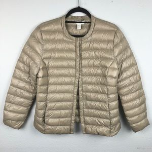 H&M Down Feather Lightweight Puffer Jacket Woman's